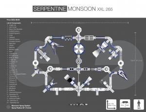 SERPENTINE MONSOON XXL 265