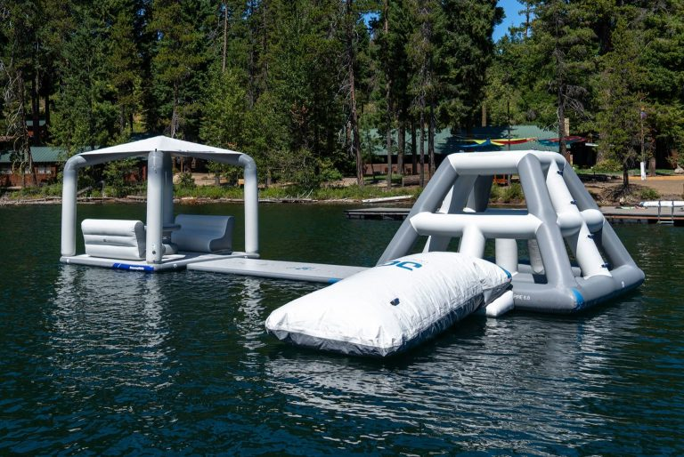 waterfront inflatables