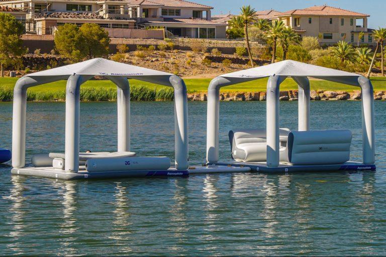Floating Cabanas